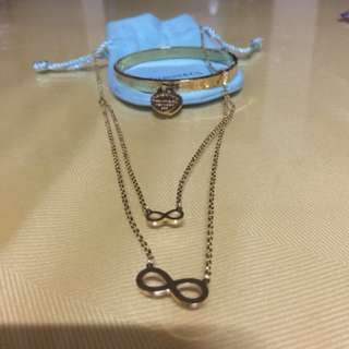 Tiffany & Co. bracelet and necklace stainless