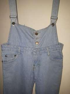 Jumpsuit jeans (baju terusan kodok)