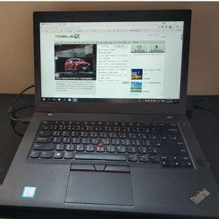 Lenovo ThinkPad T470P i7 7700HQ / 16G / 512SSD