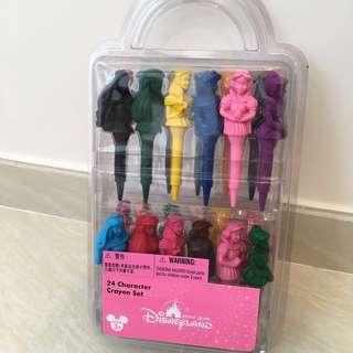 迪士尼公主顏色畫筆