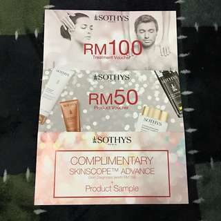 SOTHYS PARIS Treatment & Product Voucher (Worth RM150)