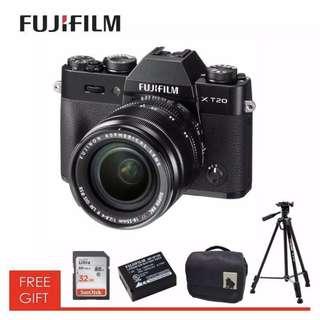 Fujifilm X-T20  XF 18-55 f2.8 BigOffer No GST!!!