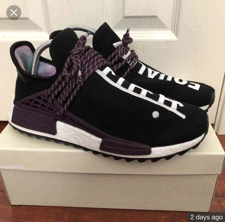 new concept 85065 c9ddd Adidas NMD human race equality, Men's Fashion, Footwear on ...