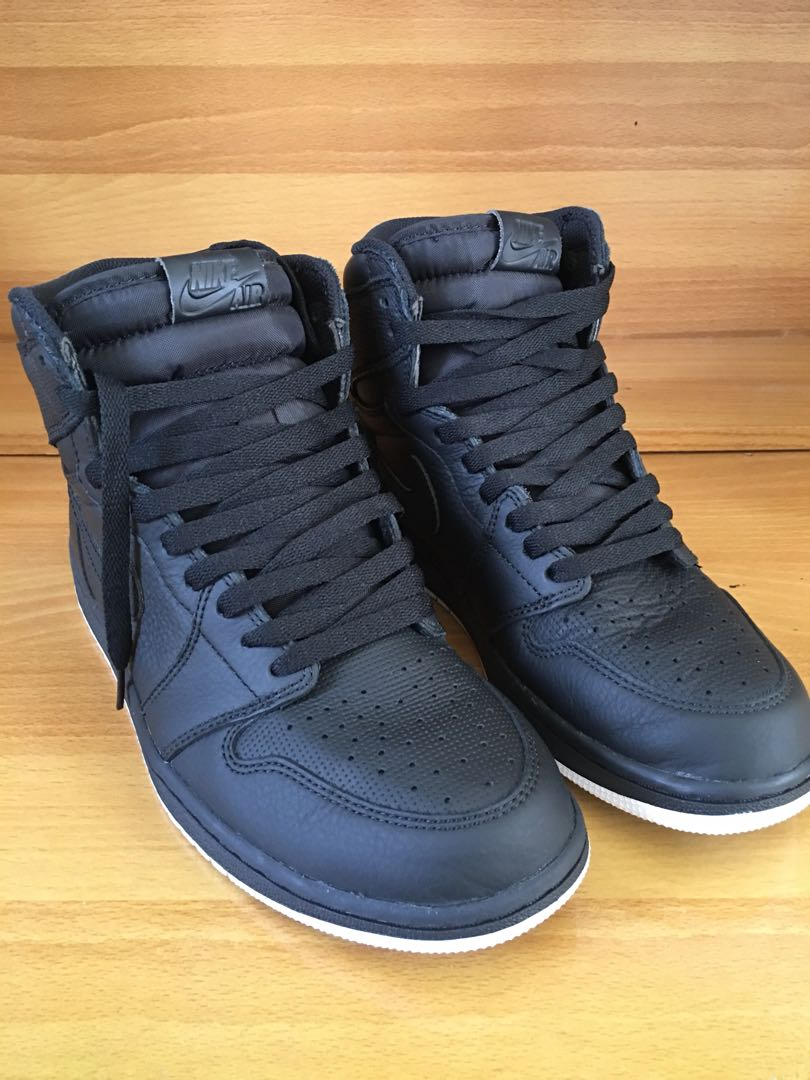 6c092c2c7e827a Air Jordan 1 High OG Perforated Black White YinYang