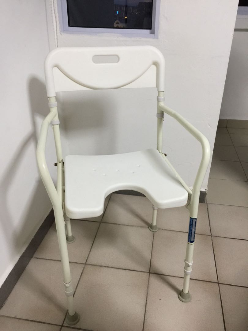 Assistive device bathroom white chair, Assistive Devices ...
