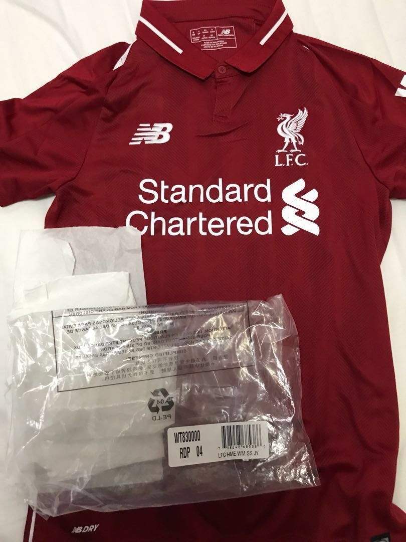new arrival 57b72 c73da Authentic 18/19 Liverpool woman home kit, Sports, Sports ...
