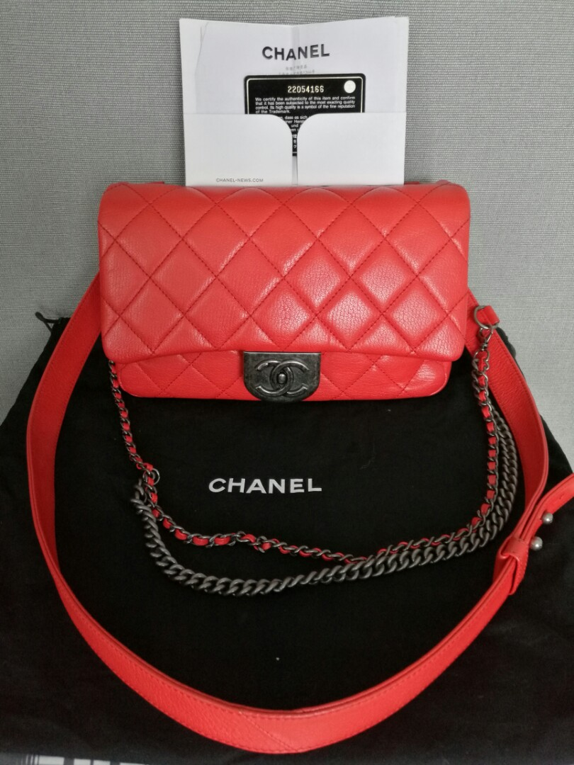 b4865a79c51f Authentic Chanel Sling Bag, Luxury, Bags & Wallets, Sling Bags on ...
