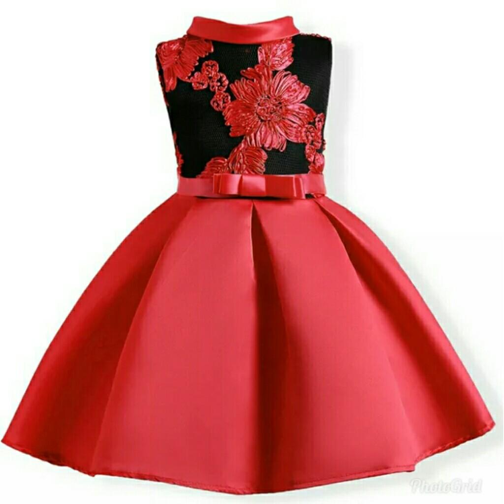 8fe874dbb498 Baby Girls Dress For Girls Wedding Party Dresses Flower Kids ...