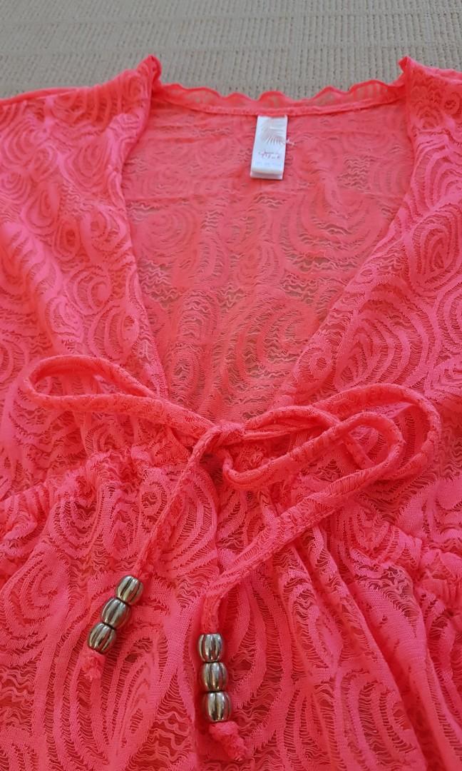 Bikini lace dress