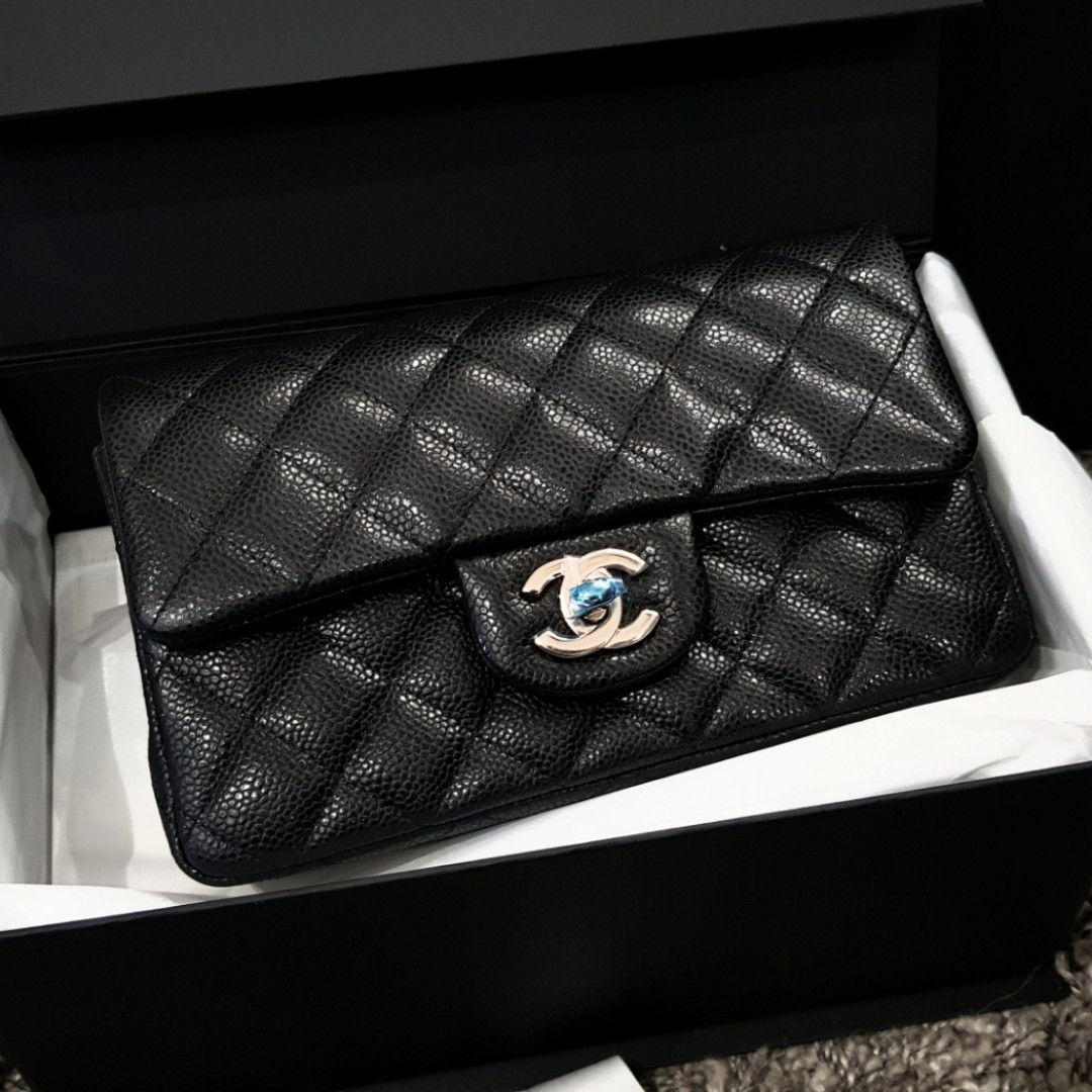 3ffb24541fd6 26xxxxxx BNIB 18S CHANEL BLACK MINI FLAP LGHW, Luxury, Bags ...