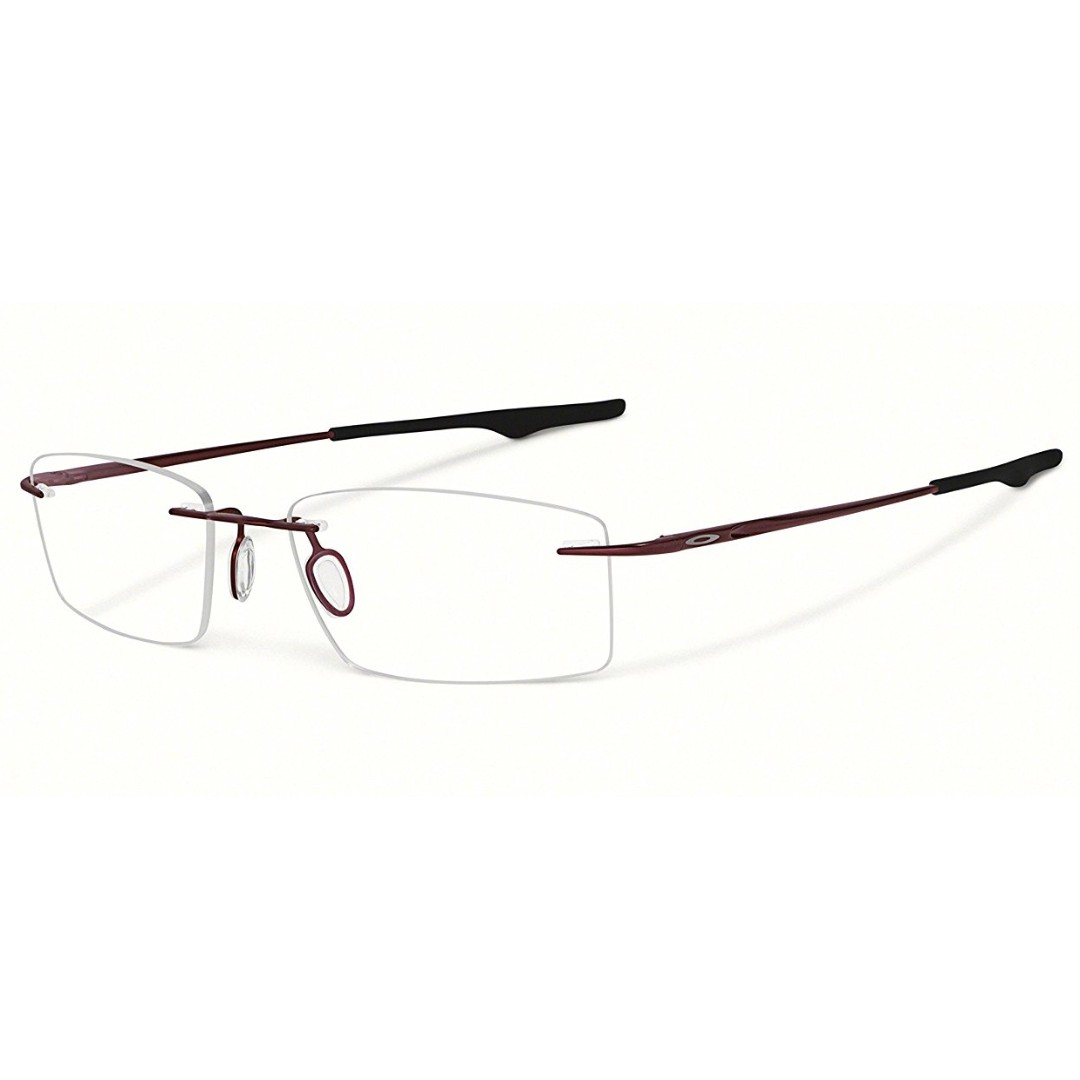 e356f948a0 Oakley Keel OX3122-0453 Brick 53mm Titanium Rimless  185 +2 PAIRS EXTRA  SILICON NOSE PAD FREE