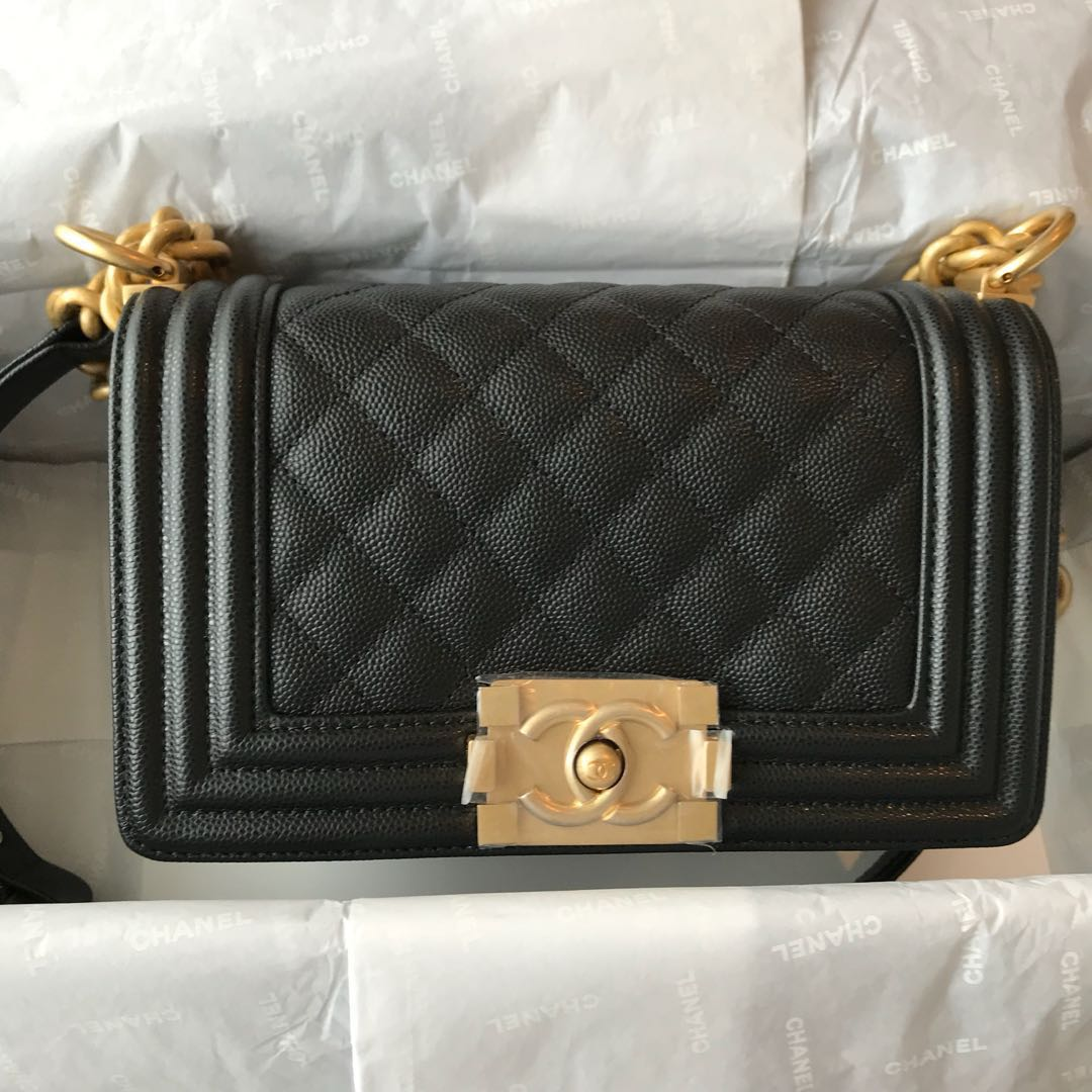 b3b73af9304d Brand-new Authentic Chanel Boy, Luxury, Bags & Wallets, Handbags on ...