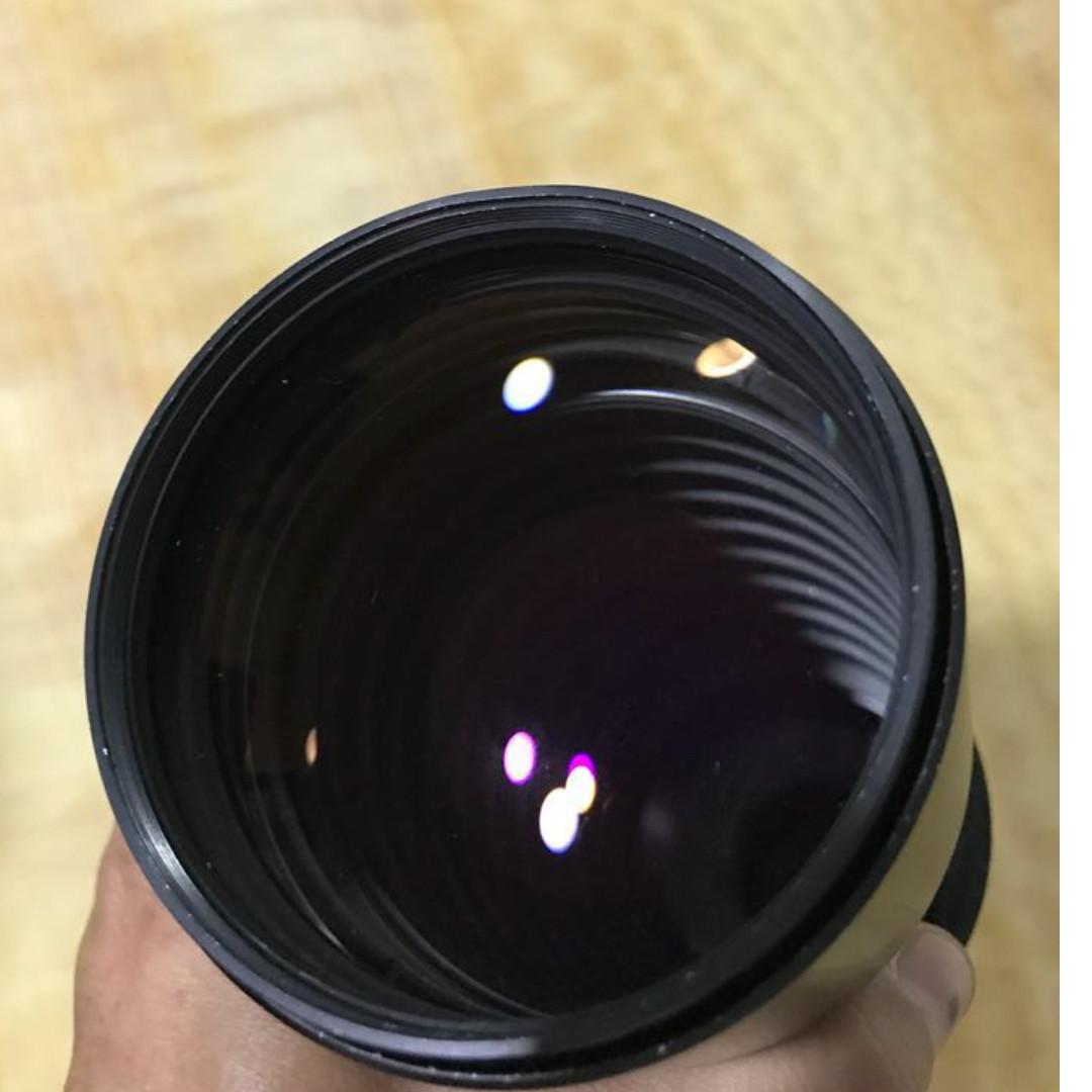 Carl Zeiss Jena Prakticar 300mm F4 lens