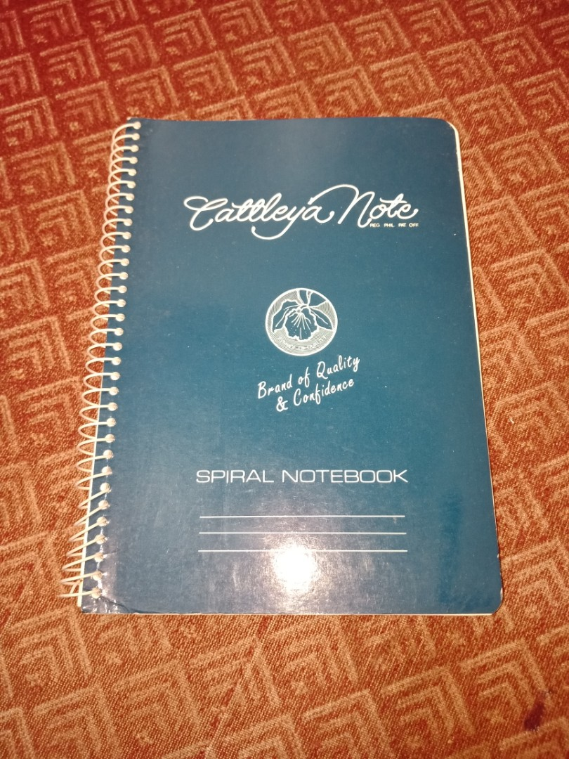 Cattleya Note Spiral Notebook Bundle Of 3 On Carousell