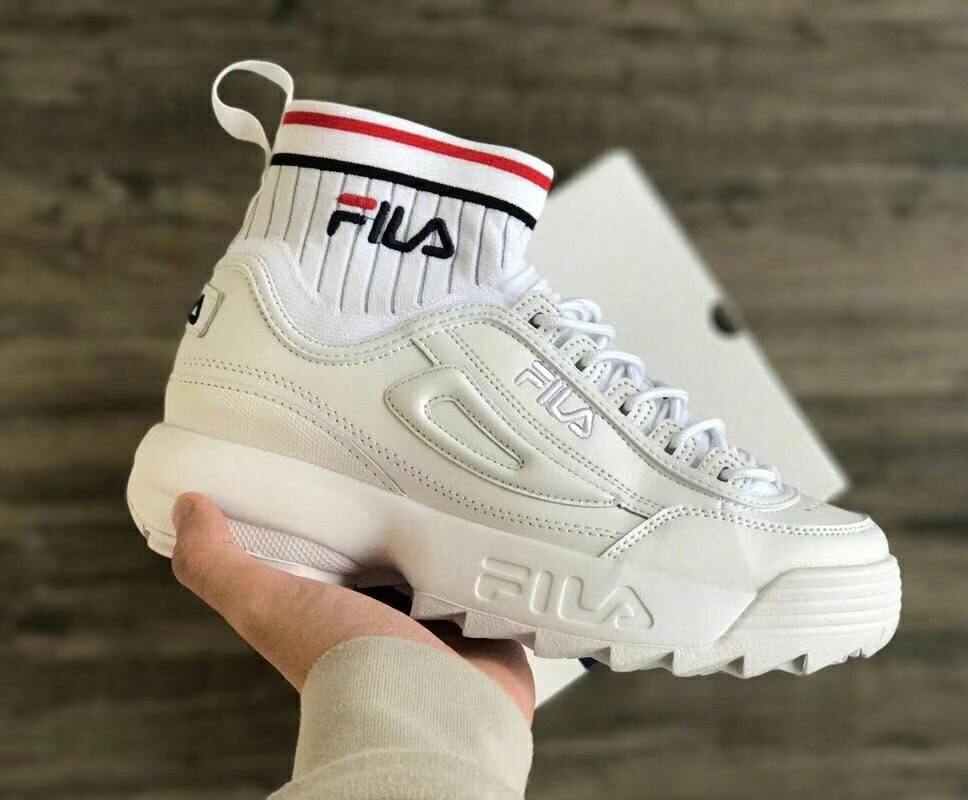 e70916d96a Fila Disruptor 2 EVO Sockfit, Women's Fashion, Shoes on Carousell