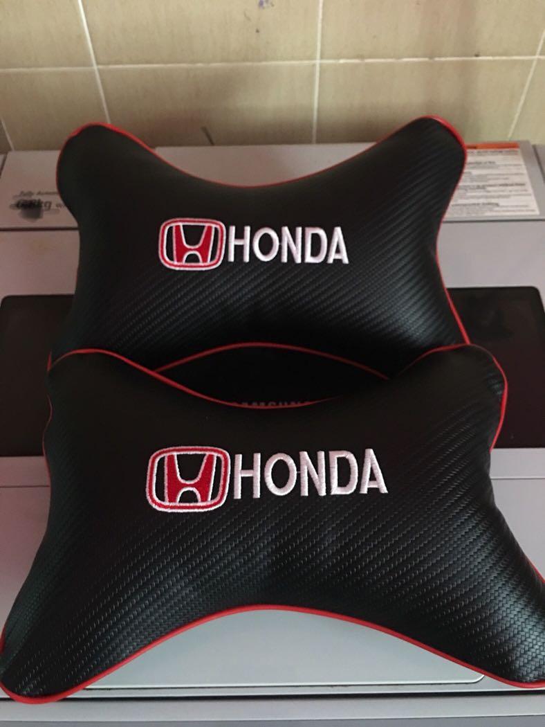 Honda Head Rest Pillow Bantal Kusyen