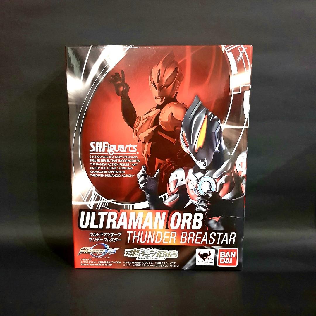 Bandai S.H.Figuarts SHF Ultraman ORB Thunder Breastar Action Figure Brand New!!