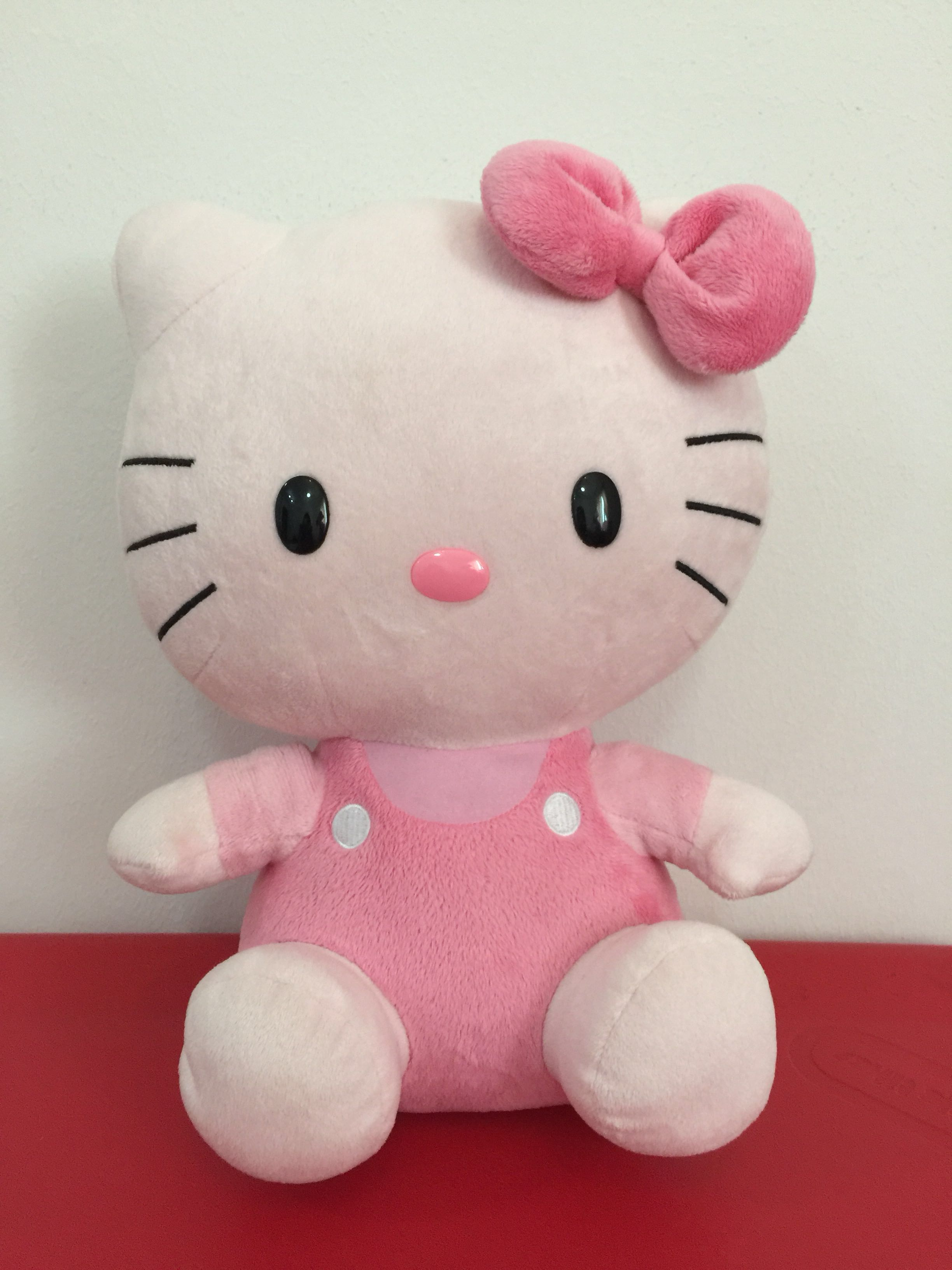 Large Hello Kitty Ty Original Plush Toy, Toys & Games,