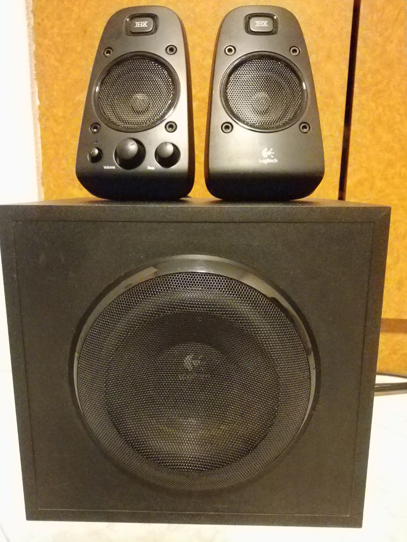 Logitech Z623 21 Speakers Electronics Audio On Carousell G560 Lightsync Pc Gaming Speaker Photo