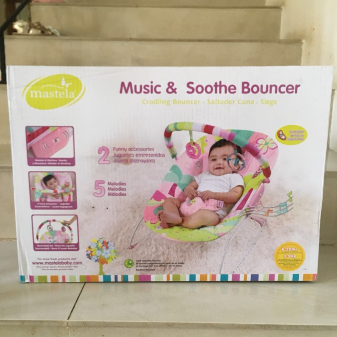 Mastela Kursi Santai Bayi 11kg Pink New Mastela Portable Swing SKU 17204 Source .