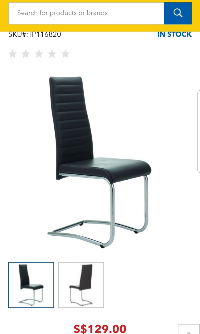 MONZA DINING CHAIR - Courts on Carousell