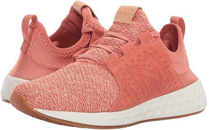 2183e360f6c New Balance Women s FRESH FOAM CRUZ Running Shoes Copper Rose ...