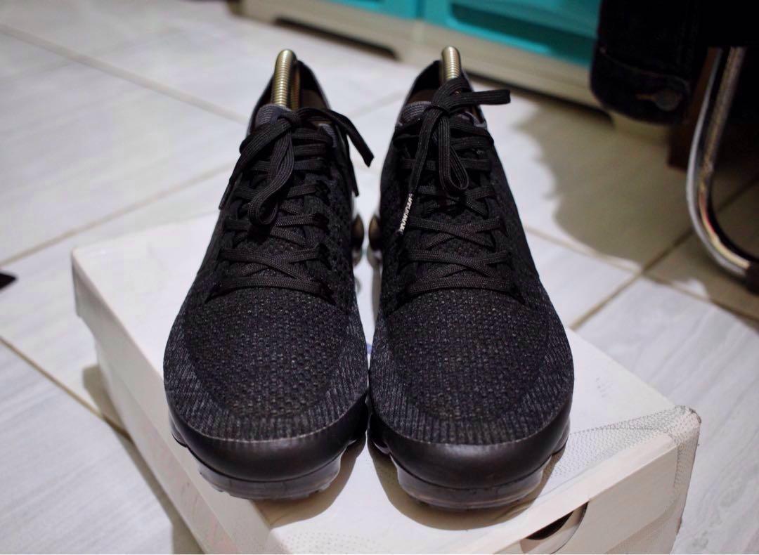 4e284abde7dea Nike Vapormax Flyknit Betrue Triple Black PREMIUM