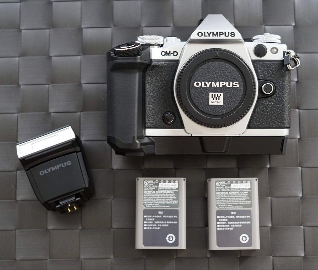 Olympus OMD EM5 Mark ii + Grip