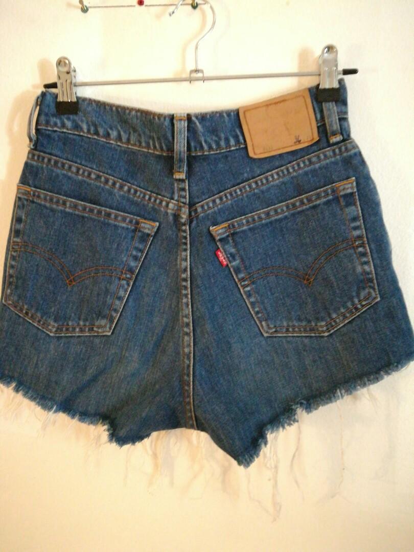 a20573f8 Original Levis Strauss Vine Indigo Hot Pants Women S Fashion