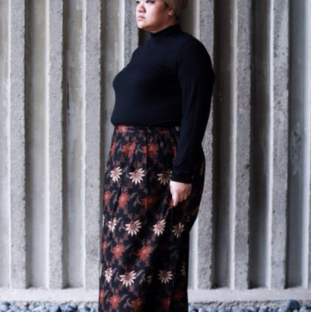 Plus Size A Line Batik Skirt up to 4XL, Women\'s Fashion, Clothes ...