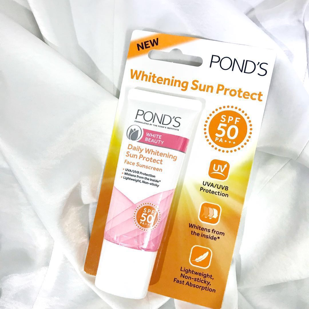 Ponds White Beauty Daily Whitening Sun Protect Health Package Skin Bath Body On Carousell