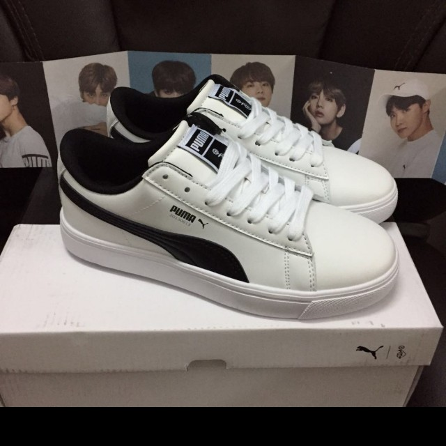 0f1f2fe9ee7598 Puma x BTS Court Star Shoes