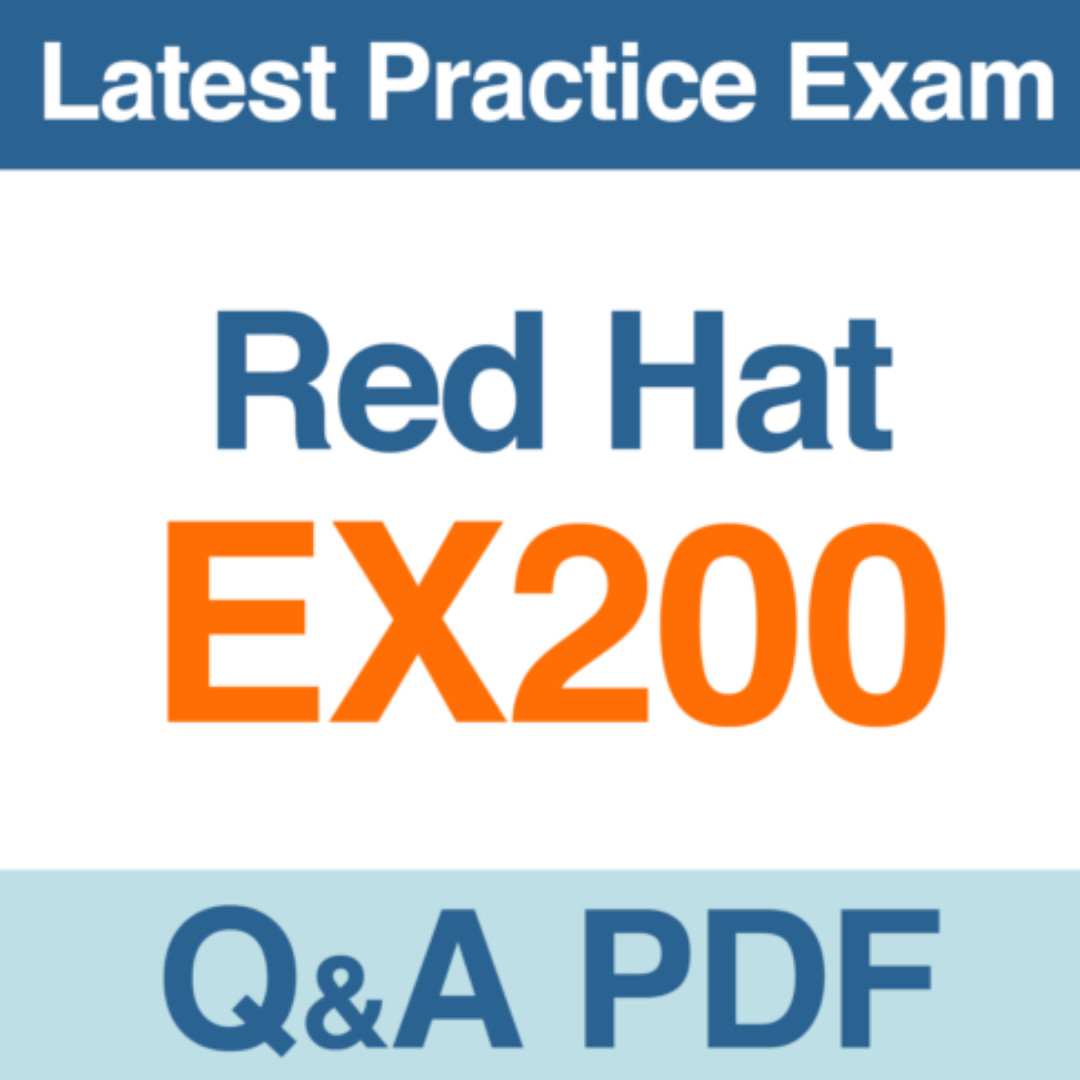 Red Hat Certified System Administrator - RHCSA Practice Test EX200 Exam Q&A  PDF