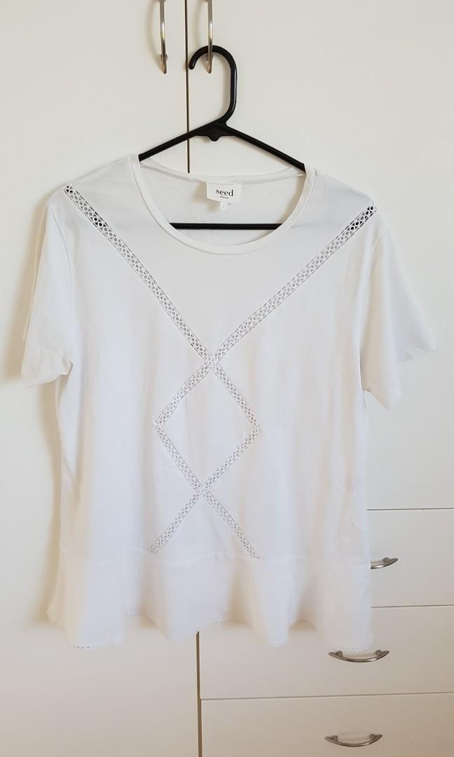 Seed white T-Shirt