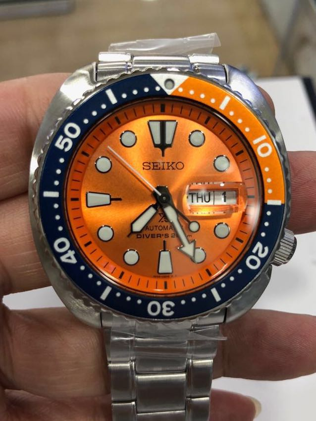 cheap for discount 1d75a 42f13 Seiko SRPC95K1 aka Orange turtle Limited Edition, Men's ...