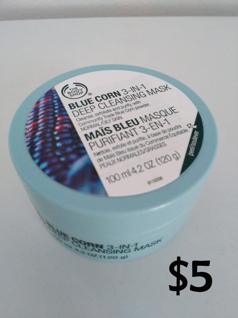 The Body Shop Blue Corn Mask