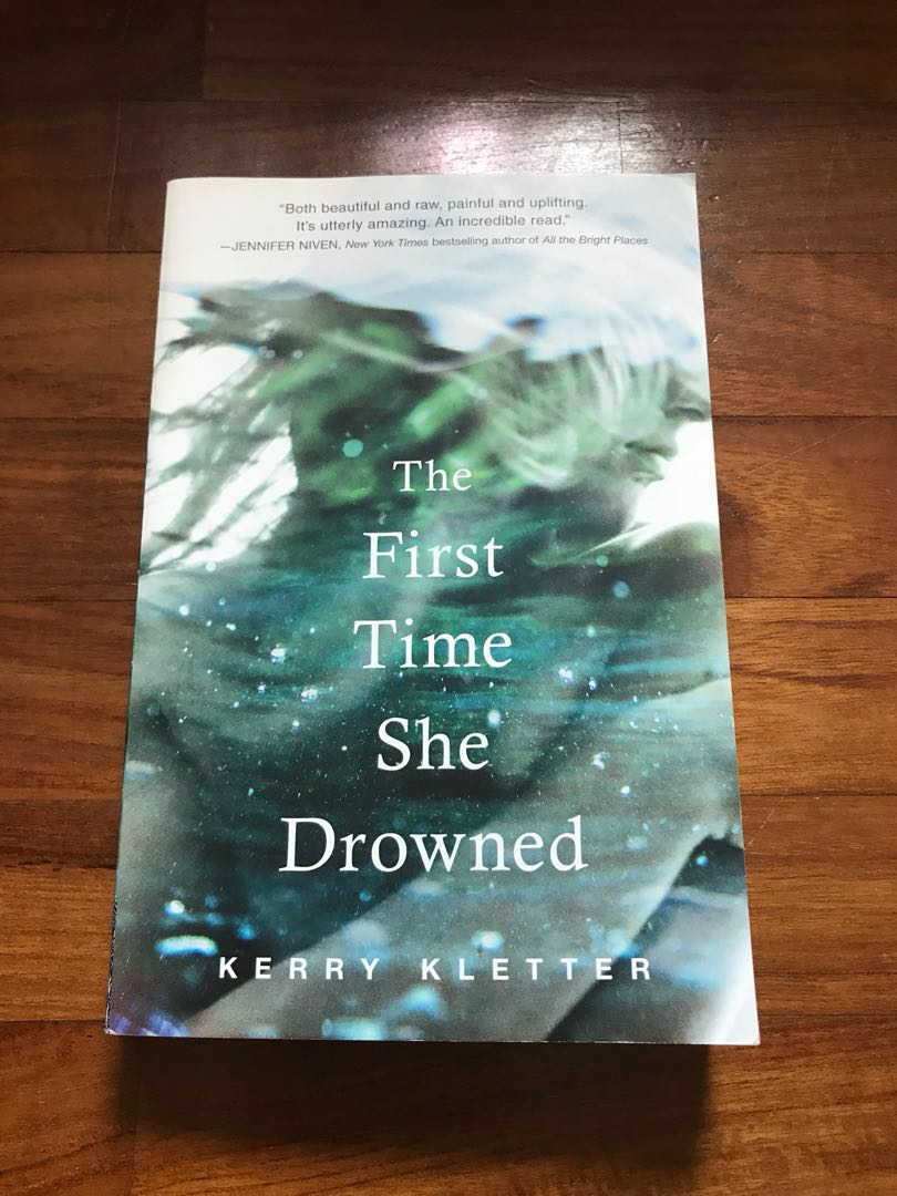 The first time she drowned by kerry kletter books stationery the first time she drowned by kerry kletter books stationery fiction on carousell fandeluxe Gallery