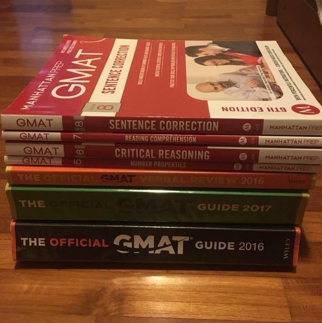 The Ultimate 700+ GMAT Books!!