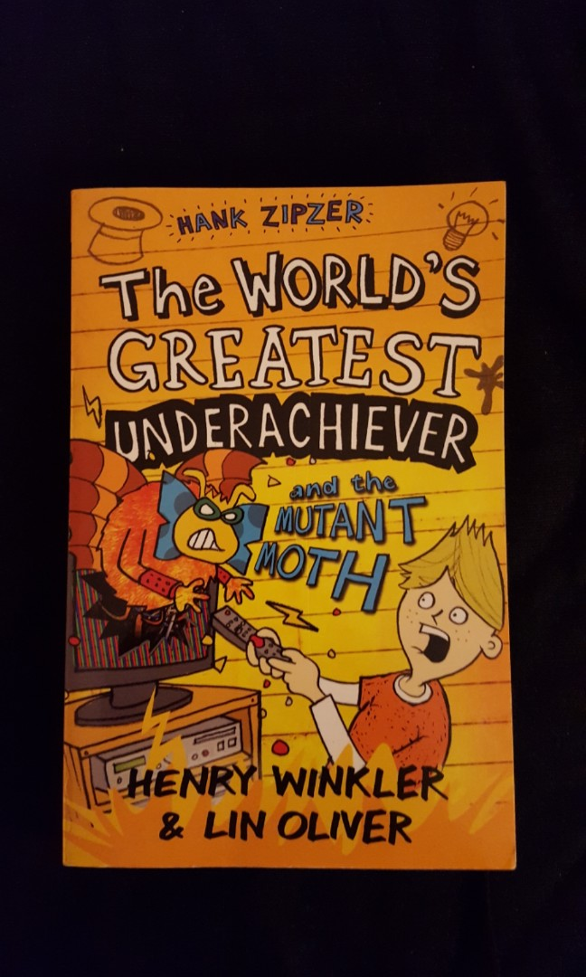 Hank Zipzer 3: The Worlds Greatest Underachiever and the Mutant Moth
