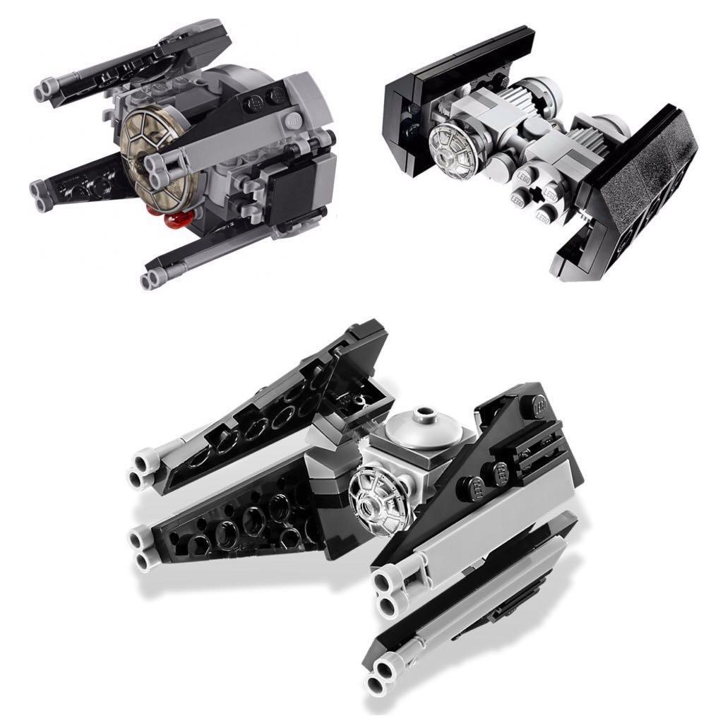 Used Lego Star Wars Tie Interceptor Tie Bomber Bundle From Set