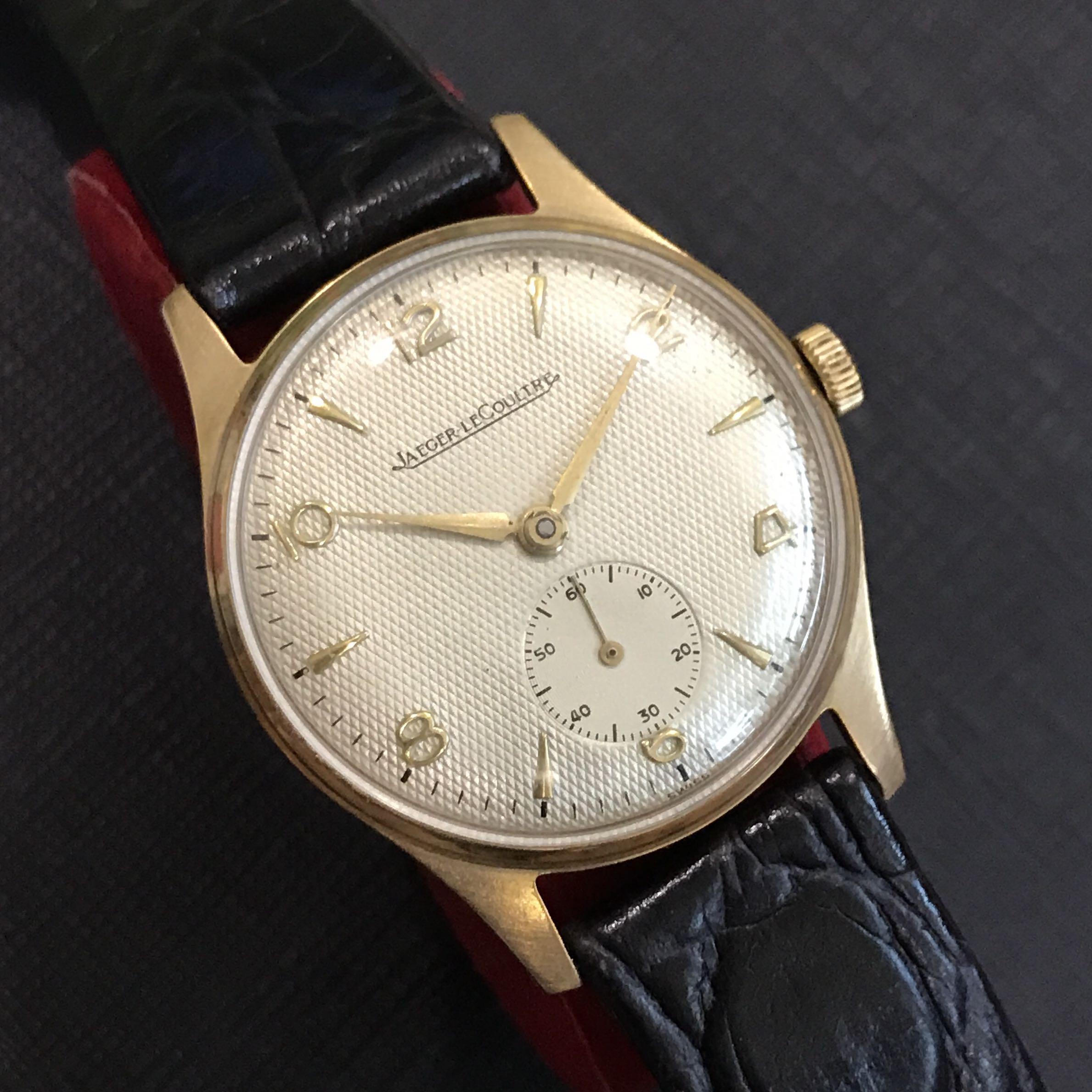 ffddbec34ecd Vintage Jaeger LeCoultre Watch
