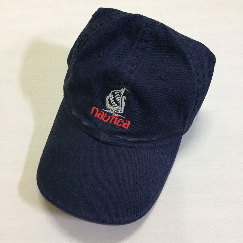 61b199399db840 Vintage Nautica Cap, Men's Fashion, Accessories on Carousell