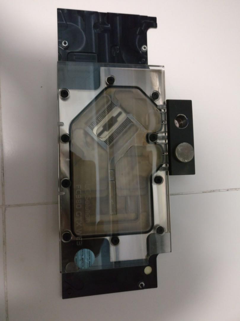 EK Watercooling parts (360MM Radiator, CPU/GPU waterblock