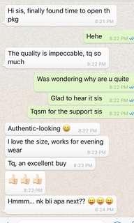 Customer's Feedback 💕
