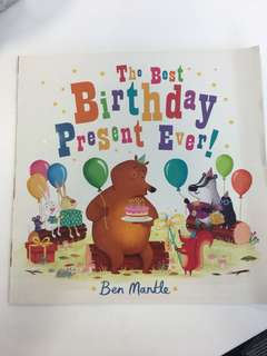 NEW The Best Birthday Gift Ever - Ben Mantle