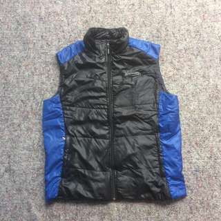 SPALDING VEST ULTRA LIGHT DOWN BLACK BLUE