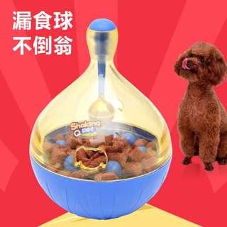 🚚 全新僅拆 寵物不倒翁 玩具不漏食器    尺吋13.5cm   材質 Pc ABC