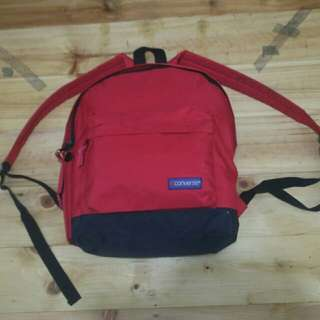 Converse backpack Red black original