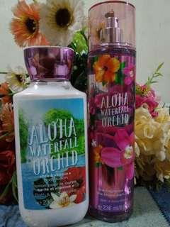 Bath and Body Aloha Waterfall Orchid
