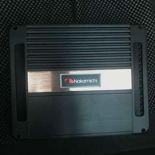 [99%新] Nakamichi 汽車用後級 音響 功率放大器
